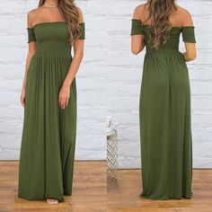 9a14d470b29 Women Summer Long Dress Sundress Sexy Strapless Backless Maxi Female Casual  Beach Dresses Solid Long Dress Plus Size GV945
