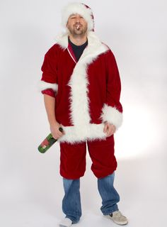 Bad Santa. *Best*costume*ever* Great fun from our office costume contest!