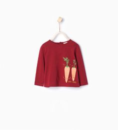 ZARA - KIDS - Organic cotton printed T-shirt