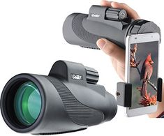 Binoculars & Telescopes Gosky Quick Cell Phone Adapter Mount Compatible With Binocular Monocular Scope Good Taste