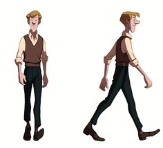 Enjoy a collection of references for Character Design: Walk Cycle. The collection contains illustrations, sketches, model sheets and tutorials…