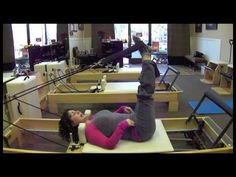 Core Exercises on the Pilates Reformer - YouTube