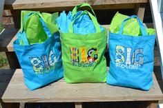 Big Brother / Big Sister Activity / Gift Bag / Tote. $17.99, via Etsy.