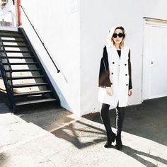 50 Awesome Outfit Ideas for Cold Weather via @WhoWhatWear