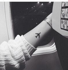 #tatoo #plane #armtattoo