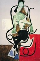 Pablo Picasso. Woman in a rocking chair, 1956