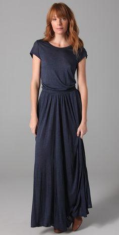 Love Love this Maxi Tee Dress #modestfashion