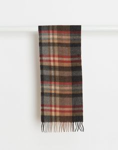 Lambswool Scarf In Grey http://bit.ly/1PwuFz2