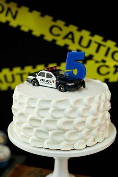Policeman Birthday Party Ideas | Photo 1 of 28 | Catch My Party