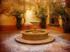 Fuente de la Hacienda Galindo, Querétaro, México