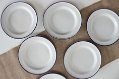 Enamelware is not only great for everyday use & outdoor entertaining, but for fashioning beautiful vignettes throughout your home!!  Be sure to visit http://www.crowcanyonhome.com for more!!
