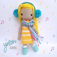 My Crochet Doll no.12 @ Yellow Angel