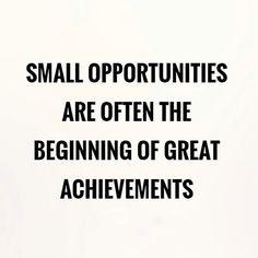 """Las pequeñas oportunidades usualmente son el comienzo de grandes logros"" . ""Small opportunities are often the beginning of great achievements"" . ¡Feliz viernes a todos! / ¡Happy Friday to everyone! 💪🎉 . . #goodmorning #friday #happy #day #positive #opportunity #tgif  #realtor #realestate #realtorlife #realestateagent #listingagent #fortlauderdale #fortlauderdalerealestateforsale #fortlauderdalerealestate #sold  #blog #buy #sell #rent #invest #localrealtors - posted by Manuel Barrios…"