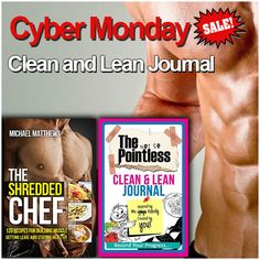 Cyber Monday Special Sale on Books Collection. Shop now at: http://thebookbundle.com/ ‪#‎Michael‬ Matthews Shredded Chef Clean and Lean ‪#‎Journal‬ 2 Books Collection Set. ‪#‎Bookscollection‬ ‪#‎Diets_Books‬
