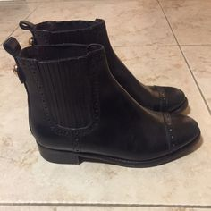 Authentic Tory Burch boots In good condition! (have been worn a few times) Tory Burch Shoes Ankle Boots & Booties