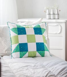 Gifty Galore Project 13 -  Pillow by A Bright Corner