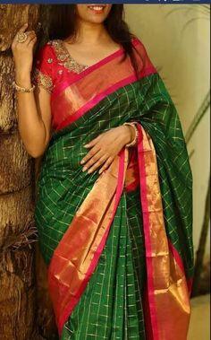 Excited to share this item from my shop: Uppada silk saree Uppada pattu saree Uppada sarees Uppada silk Uppada pattu Uppada silk saree stitched blouse on request available Kuppadam Pattu Sarees, Half Saree Lehenga, Pattu Saree Blouse Designs, Saree Look, Ikkat Silk Sarees, Banarasi Lehenga, Pochampally Sarees, Saris, Mysore Silk Saree