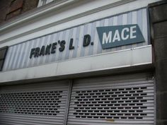 Mace - 'just popping down to the Mace' I'd almost forgotten about this shop. N Scale Layouts, Where Did It Go, High Street Shops, When You Were Young, Going Out Of Business, Black Letter, Do You Remember, Department Store, Back In The Day