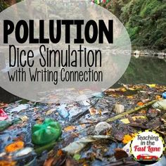 Pollution Dice Simulation with Writing Connection 4th Grade Science, Science Curriculum, Science Classroom, 5th Grade Classroom, Fifth Grade, Student Engagement, Lessons For Kids, Dice, Cement