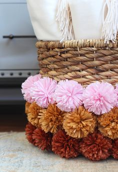 Soon after Lauren and I started HonestlyWTF five years ago, we discovered the ultimate DIY tool: the Clover Pom Pom Maker. And our lives have never been the same ever since. No really - in all honesty, it's been a mood enhancer, an ice breaker, and the cause for thousands and thousands of pom poms