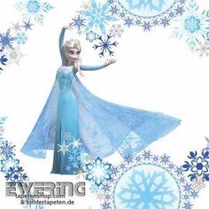 Elsa die Eiskönigin gibt es jetzt auch auf Tapete