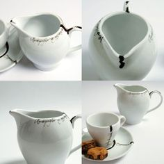 here is the creamer...and dreamy dripping cup! OMG! amazing.