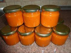 Podzimní dýňová chilli omáčka - Chilli fórum Home Canning, Preserves, Barbecue, Ham, Cantaloupe, Food To Make, Chili, Chicken Recipes, Grilling