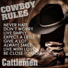 Cowboy Love Quotes | Cowboy Quotes & Sayings