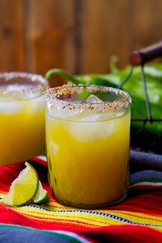 Hatch Chile Margarita from @Nancy Buchanan