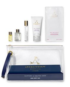The Aromatherapy Associates Support & Travel Edit is a selection of travel-sized products designed to provide the benefits of essential oils on the go. Facial Treatment, Skin Treatments, Aromatherapy Associates, Summer Set, Travel Abroad, 1 Oz, How To Know, Travel Size Products, Anti Aging