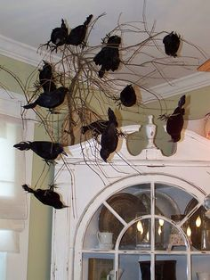 great for halloween. From The Vintage Inspired Home