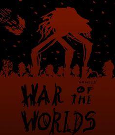H. G. Wells War of the Worlds / La Guerra de los Mundos  Other work I did several years ago. I had finished reading the novel so I need to create an illustration about it. I went for something very minimalist with just black and red.  Otro trabajo que hice hace algunos años. Había terminado de leer la novela así que necesitaba crear una ilustración sobre ella. Hice algo muy minimalista con solo blanco y negro.  #red #black #minimalist #waroftheworlds #scifi #war #martian #hgwells #book…