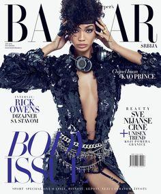Chanel Iman on Harper's Bazaar Serbia June 2016 Cover