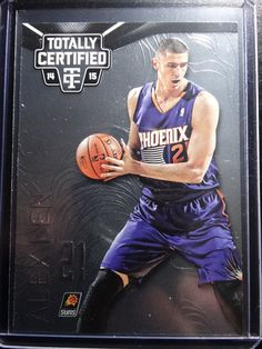 2014-15 Totally Certified #80 Alex Len Phoenix Suns Basketball Base Card #PhoenixSuns