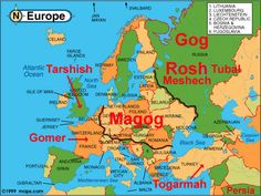 Gog, Magog Map and a differing view in this link here http://www.youtube.com/watch?v=TIm6eJWV4yc&feature=share&list=FLaxqUc1w073l9VrnaZEbi6Q&index=28
