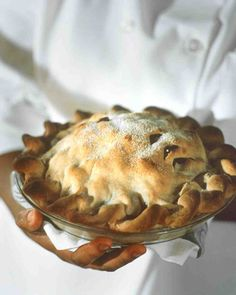Pear and Dried Cherry Pie Recipe