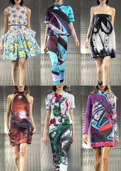 London Fashion Week – Spring/Summer 2014 – Print Highlights – Part 3