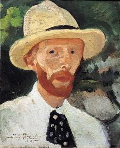 Felice Carena (Italian, 1879-1966) Autoritratto.