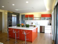Modern Spaces Open Concept Kitchen Design, Pictures, Remodel, Decor and Ideas - page 30