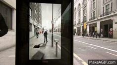 Pepsi Max's Augmented Reality Bus Stop is Awesome http://projection-mapping.org/ar-bus-stop/