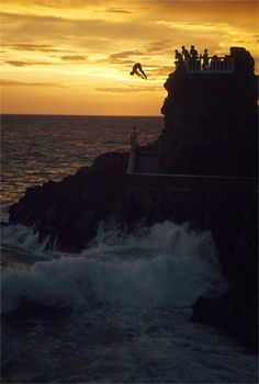 Mazatlan, MX is famous for its crazy cliff divers! Would you ever dare?