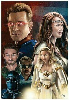 Batman Returns, Batman Vs Superman, Sci Fi Movies, Movie Tv, Antony Starr, Erin Moriarty, Rick Y Morty, Smoke Art, Best Fan