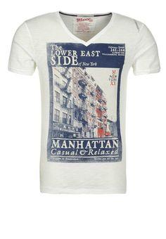Mexx - Print T-shirt - white