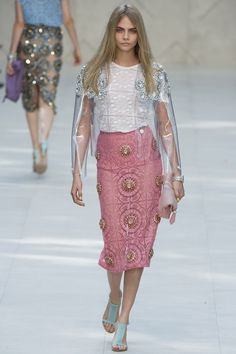 Burberry Prorsum ready to wear 2014, London fashion week