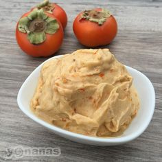 Enjoy Fruit of the Season like Persimmons & Turn them into a treat looks, tastes & feels like ice cream in seconds with Yonanas!