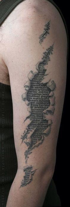 'A page off my book  #art #tattoo ShyC'
