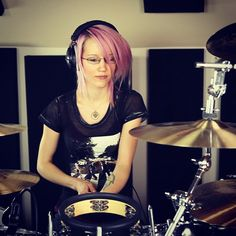 Drumming is serious business. ;)