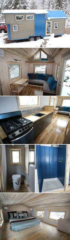 Blue Sapphire tiny house