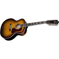 Guild F-412 Jumbo 12-string Acoustic Guitar Antique Burst Guild Guitars, 12 String Acoustic Guitar, Music Bands, Bucket, Music Instruments, Antique, Musical Instruments, Buckets, Antiques