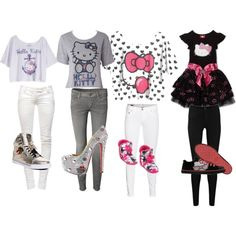 Hello Kitty Outfits - Polyvore